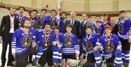 Erzurum Buzda Lig Şampiyonu Oldu