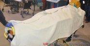 Tinerle Sobayı Yakarken Ağır Yaralandı