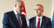 Karaman'dan Bakan Ağbal'a Teşekkürlü Karşılama