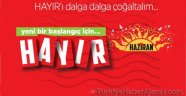 'HAYIR' Etiketine 7 Bin Lira Ceza