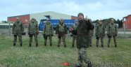 'Söz' İçin Askeri Eğitim Aldilar