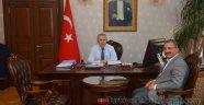 Başkan Kimyeci Hatay Valisi Erdal Ata'yı Ziyaret Etti