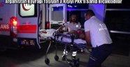 Afganistan Bayrağı Taşıyan Kişileri Bıçakladılar