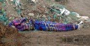 Ağrı'da Battaniyeye Sarılı Ceset Bulundu