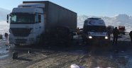 Ağrı'da Feci Kaza: Ölü ve Yaralılar Var