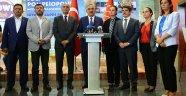 AK Parti'den, CHP'ye Geçmiş Olsun Ziyareti