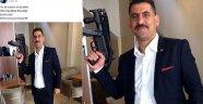 AK Partili Üyeden MP5'li Paylaşım