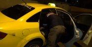 Aksaray-Ticari Takside 9 Kilo Esrar Ele Geçirildi