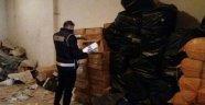 Ambarlı'da 6 Bin Kutu Kaçak Sigara Yakalandı