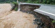 Artvin'de Yoğun Yağış Sele Neden Oldu