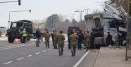 Askeri Araç İle TIR Çarpıştı: 2 Asker Yaralı