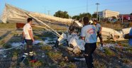 Balıkesir'de THK Pistinden Havalanan Uçak Düştü