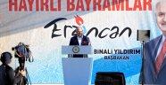 Başbakan Yıldırım Erzincan'da Konuştu