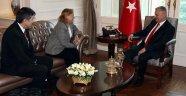 Başbakan Yıldırım, Güler Sabancı'yı Kabul Etti