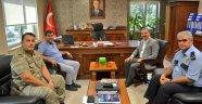 Başkan Kimyeci'den Kaymakam Tortop'a Nezaket Ziyareti