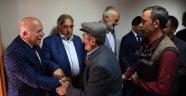 Başkan Sekmen Oltu'da Muhtarlarla Buluştu
