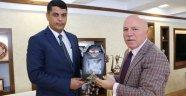 Başkonsolos Süleymanlı Başkan Sekmen'i Ziyaret Etti