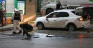 Benzinlikte Park Halindeki Araca EYP'li Saldırı