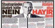 Bild Gazetesi: Atatürk Olsa Hayır Derdi
