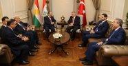 Binali Yıldırım, Barzani'yi Kabul Etti