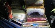 Bitlis'te Arı Kovanlarından Kaçak Sigara Çıktı