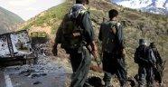 Bitlis'te Teröristler Yol Kesip Araç Yaktı