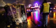 Bolu Dağı Tüneli Çıkışında Kaza: 7 Yaralı