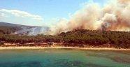 Çanakkale'deki Orman Yangını Söndürüldü