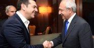 CHP Lideri Kılıçdaroğlu Çipras İle Görüştü
