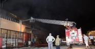 Çorum'da Toptancılar Sitesinde Yangın