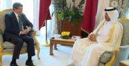 Davutoğlu Katar Başbakanı İle Görüştü