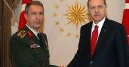 Erdoğan, Akar'dan Bilgi Aldı