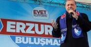 Erdoğan, Erzurum'da Müjdeyi Verdi!