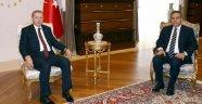 Erdoğan İle Hakan Fidan Bir Araya Geldi