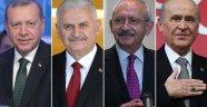 Erdoğan'dan AK Parti, CHP ve MHP Liderlerine Davet