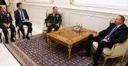 Hulusi Akar, Aliyev'le Görüştü