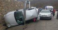 İnegöl'de Zincirleme Trafik Kazası: 8 Yaralı