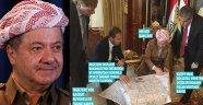 İngiliz Bakan ve Barzani, Harita Başında
