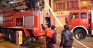 Isparta'da Korkutan Otel Yangını