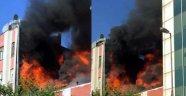İstanbul'da Korkutan Patlama: Alev Alev Yandı