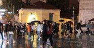 İstanbul'da Sağnak Yağmur Etkili Oldu