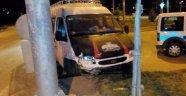 Kahta'da Zincirleme Kaza: 4 Yaralı