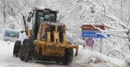 Kar Kalınlığı 245 Santimetreye Ulaştı