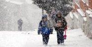 Karaman'da Eğitime Kar Engeli