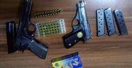 Kayseri'de Ruhsatsız Silah Operasyonu; 4 Gözaltı