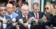 Kılıçdaroğlu, Ahmet Hakan'ı Evinde Ziyaret Etti