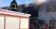 Kilis'in Sınırda Hastane Yangını