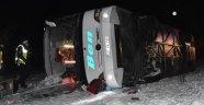 Konya'da Otobüs Devrildi: 1 Ölü, 46 Yaralı