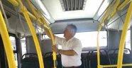 Malatya'da Halk Otobüslerinde Klima Denetimi