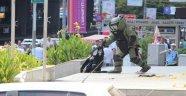 Mecidiyeköyde 'Şüpheli Çanta' Alarmı